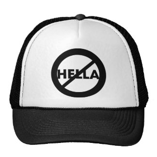 Hella is not a Word Hat
