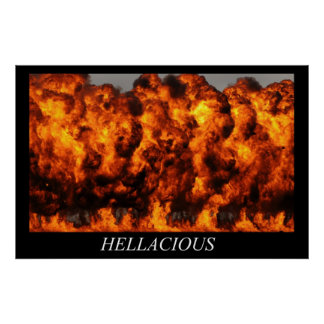 Hellacious Poster
