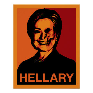 HELLARY 18x22.91 Poster