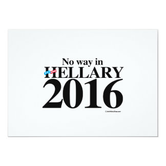 Hellary 2016 for President Personalized Announcement Cards