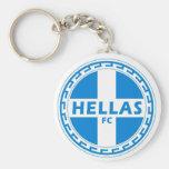 Hellas Gear Greek Gifts by greek2me Key Chain