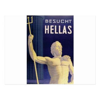 Hellas Greece Besucht Postcard