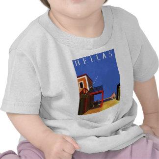 hellas Greece t-shirt Tees