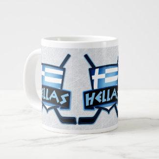 Hellas Greek Ice Hockey Logo Mug