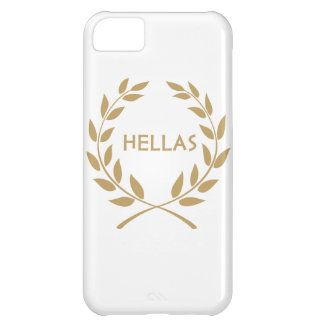 Hellas with Gold olive Wreath iPhone 5C Cover