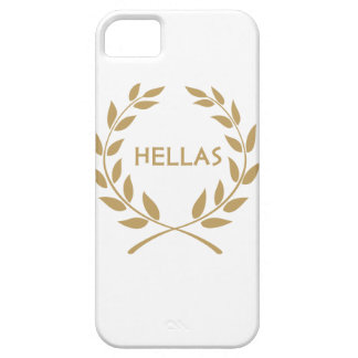 Hellas with Gold olive Wreath iPhone 5 Cover