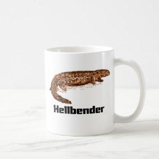 Hellbender t-shirt coffee mug