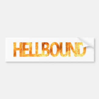 Hellbound Bumper Sticker