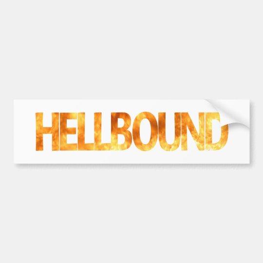 Hellbound Bumper Sticker