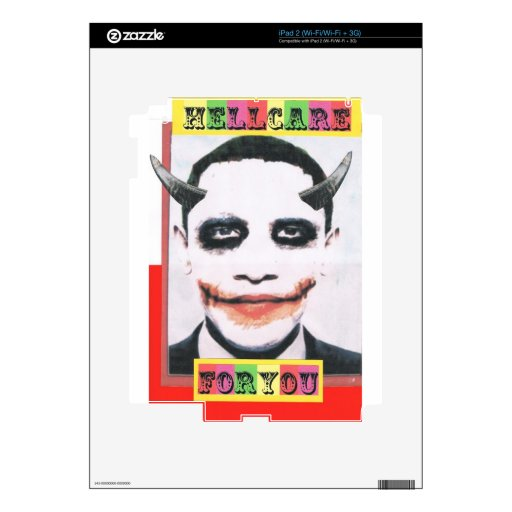HellCare ForYou Decals For The iPad 2