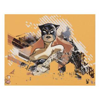 Hellcat City Skyline Graphic Panel Wall Art