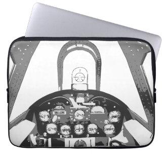 Hellcat Cockpit Laptop Sleeve