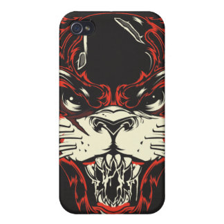 Hellcat Cover For iPhone 4
