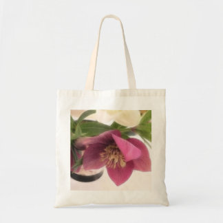 Hellebores And Daffodils In Vase Bags