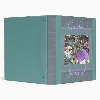 Helleborus, Garden Journal Binder