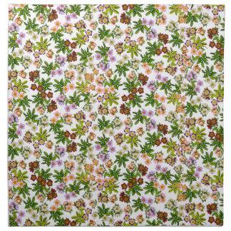 Helleborus Lenten Rose Flowers Napkins