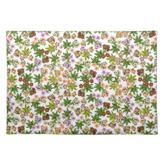 Helleborus Lenten Rose Flowers Placemats