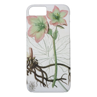 Helleborus Niger from 'Phytographie Medicale' by J iPhone 8/7 Case