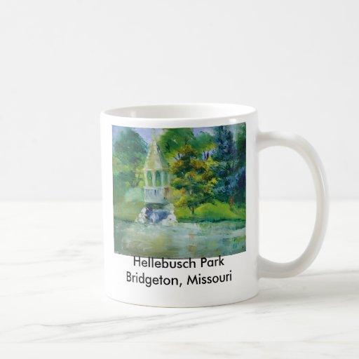 Hellebusch Park Bridgeton, Mo Classic White Coffee Mug