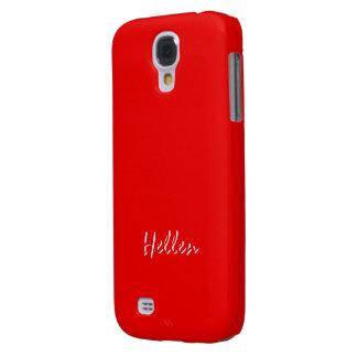Hellen Full Red Samsung Galaxy S4 case
