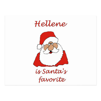 hellene Christmas Postcard