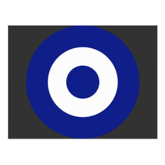 Hellenic Air Force Roundel Greece Post Card