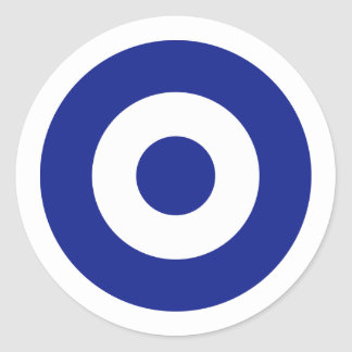 Hellenic Air Force Roundel Greece Round Stickers