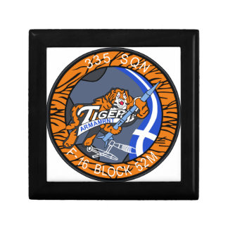 HELLENIC AIRFORCE CAMBRAI TIGER MEET 2011 F-16 PAT JEWELRY BOXES