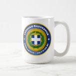 Hellenic Republic (Greece) Medallion Coffee Mug