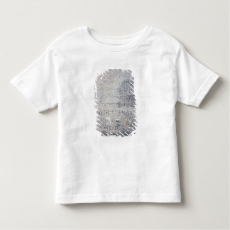 Hellenistic epigraph stone , found in Ephesus Toddler T-shirt