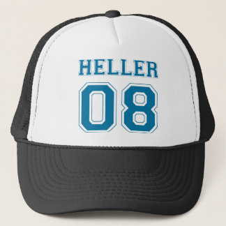 Heller 08 - Blue Trucker Hat
