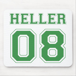 Heller 08 - Green Mouse Pad