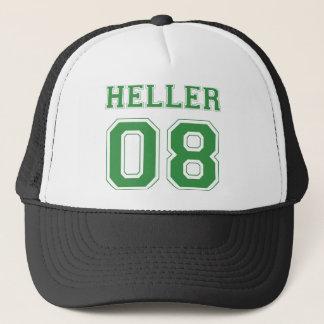 Heller 08 - Green Trucker Hat