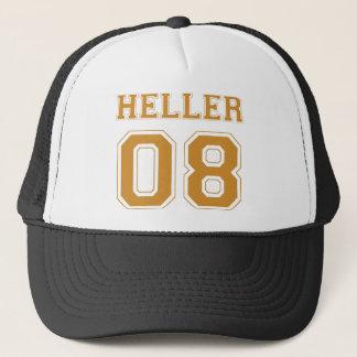 Heller 08 - Orange Trucker Hat