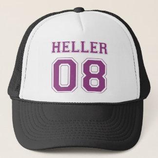 Heller 08 - Purple Trucker Hat