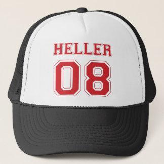 Heller 08 - Red Trucker Hat