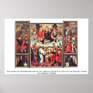 Heller-Altar: Reconstruction Of The Open Altar Print