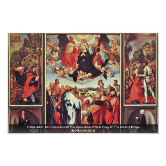 Heller-Altar: Reconstruction Of The Open Altar Poster