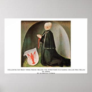 Heller-Altar Right Wing By Albrecht Dürer Poster