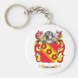 Heller Coat of Arms (Family Crest) Key Chains