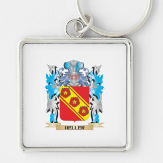 Heller Coat of Arms - Family Crest Keychain