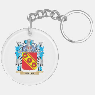 Heller Coat of Arms - Family Crest Acrylic Key Chains