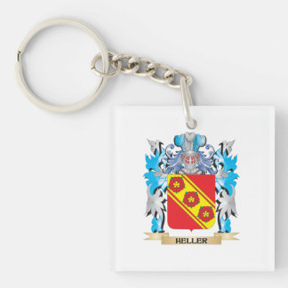 Heller Coat of Arms - Family Crest Acrylic Key Chain