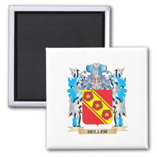 Heller Coat of Arms - Family Crest Refrigerator Magnet