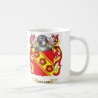 Heller Coat of Arms (Family Crest) Coffee Mug