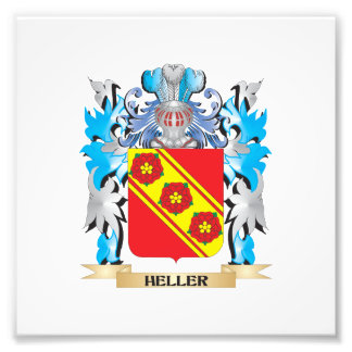 Heller Coat of Arms - Family Crest Photo Print