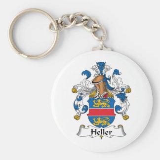 Heller Family Crest Key Chain