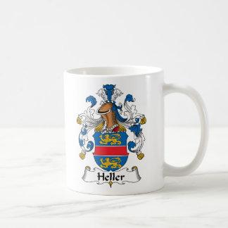 Heller Family Crest Coffee Mugs