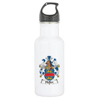 Heller Family Crest 18oz Water Bottle