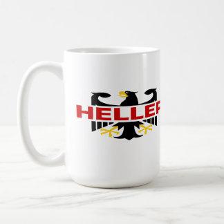 Heller Surname Coffee Mug